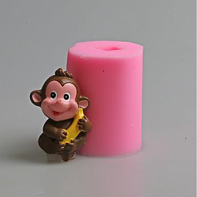 Forma do pieczenia Zwierzę o cukierki Czekoladowy Tort Other Silikonowy Ekologiczne Święto Dziękczynienia Sylwester Urodziny Motyw