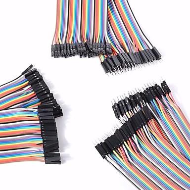 Arduinoのために設定メスデュポンケーブルへのメス/メスオス/オスユニバーサル男性