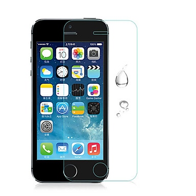 Недорогие Защитные пленки для iPhone SE/5s/5c/5-1 ед. Защитная пленка для экрана для Защита от царапин HD / Взрывозащищенный iPhone SE / 5s / 5