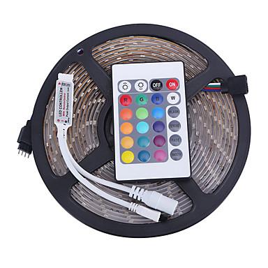 Işık Setleri LED'ler RGB Uzaktan Kontrol Kesilebilir Kısılabilir Su Geçirmez Renk Değiştiren Kendinden Yapışkanlı Araçlar İçin Uygun