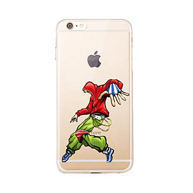 Varten Läpinäkyvä / Kuvio Etui Takakuori Etui Piirros Pehmeä TPU varten AppleiPhone 7 Plus / iPhone 7 / iPhone 6s Plus/6 Plus / iPhone