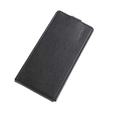 Capinha Para Doogee Capinhas DOOGEE Porta-Cartão / Flip Capa Proteção Completa Sólido Rígida PU Leather para