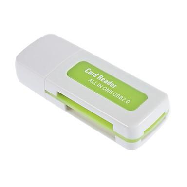 Usb 2.0 sdhc sdxc micro sd συσκευή ανάγνωσης καρτών πολλαπλών λειτουργιών sd / microsd / tf κάρτα κάρτας trans-flash / m2 / ms / mmc