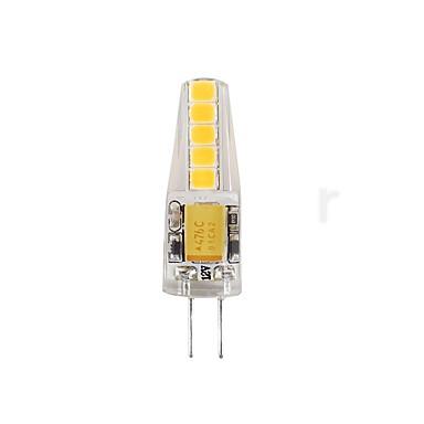 2W G4 أضواء LED Bi Pin T 10 المصابيح SMD 2835 ضد الماء ديكور أبيض دافئ أبيض كول 180-200lm 3000-3500/6000-6500K AC/DC 12V