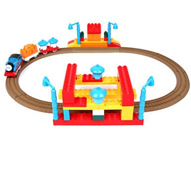 Track Rail Car Uutuudet ja pilailutarvikkeet Lelut Muovi Lasten päivä