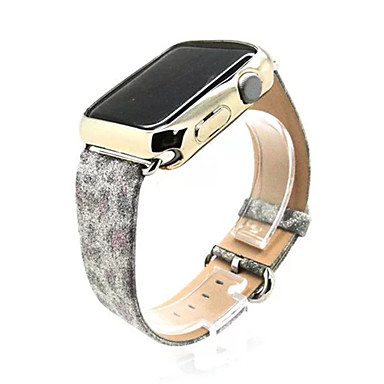 Watch Band varten Apple Watch Series 3 / 2 / 1 Apple Perinteinen solki Aito nahka Rannehihna