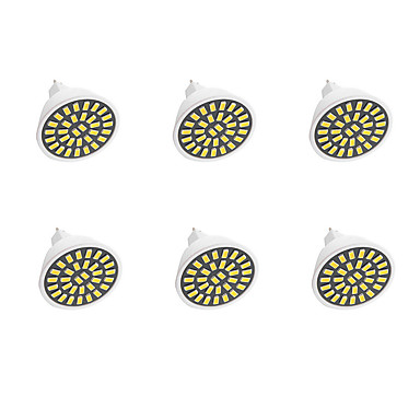 300-360 lm GU5.3(MR16) LED Spot Işıkları G50 32LED led SMD 5733 Dekorotif Sıcak Beyaz Serin Beyaz AC110 AC220 AC 220-240V