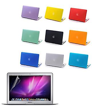 caso fosco corpo inteiro de alta qualidade e filme protetive tela para MacBook Air de 13,3 polegadas