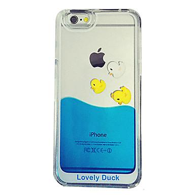 Voor iPhone 5 hoesje Stromende vloeistof / Transparant hoesje Achterkantje hoesje Cartoon Hard PC iPhone SE/5s/5