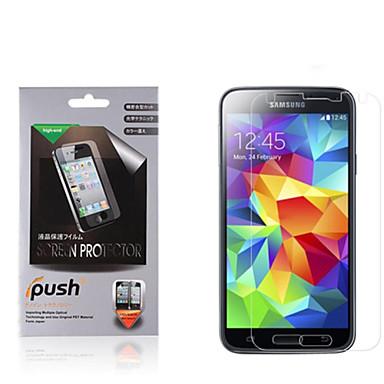 hoge transparantie matte lcd screen protector met een reinigingsdoekje voor de Samsung Galaxy S5 (3 stuks)