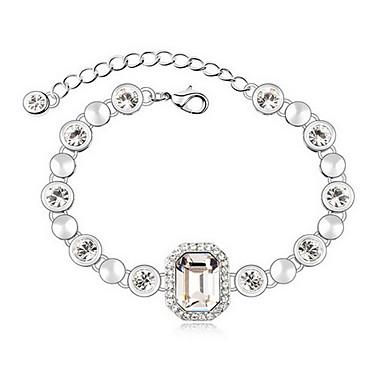 Γυναικεία Βραχιόλια με Αλυσίδα & Κούμπωμα Φιλία Κράμα Κοσμήματα Κοσμήματα Για Καθημερινά Causal