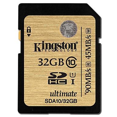 Kingston 32 GB Karta SD karta pamięci UHS-I U1 / Class10