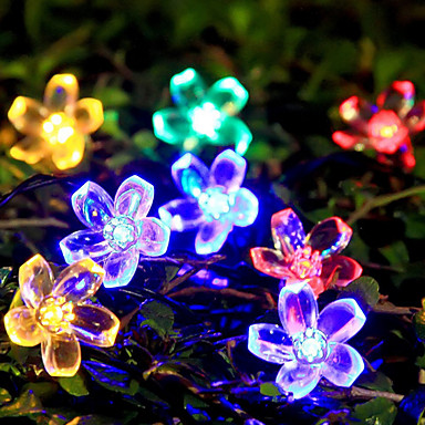 7m Łańsuchy świetlne 50 Diody LED Wodoodporne