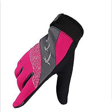 Rękawiczki sportowe Quick Dry Zdatny do noszenia Oddychający Odporny na wstrząsy Full Finger Syntetyczne włókna tekstylne Mesh Kolarstwo