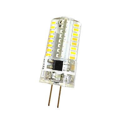3W 280-300 lm G4 Sisustusvalaisimet T 64 ledit SMD 3014 Himmennettävissä Lämmin valkoinen Kylmä valkoinen AC 220V AC 85-265V