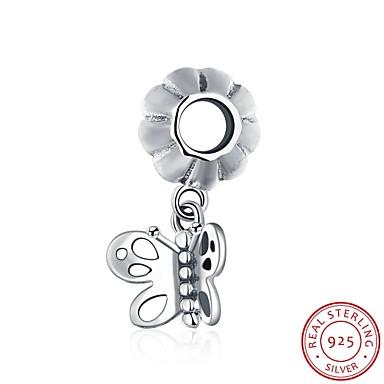 cele europene și americane populare bijuterii de moda 925 pandantiv de argint agățat brățară - accesorii formă de fluture