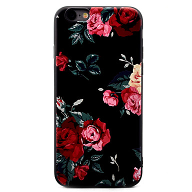 7 iPhone disegno iPhone iPhone X 7 TPU 05480600 iPhone 8 Morbido Per per retro Fantasia Plus 6 iPhone X Per iPhone Custodia Fiore Apple decorativo wI7I86