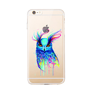إلى شفاف / نموذج غطاء غطاء خلفي غطاء بوم ناعم TPU إلى Appleفون 7 زائد / فون 7 / iPhone 6s Plus/6 Plus / iPhone 6s/6 / iPhone SE/5s/5 /