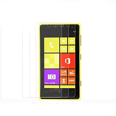 hoge transparantie hd lcd screen protector voor de Nokia Lumia 1020 (3 stuks)
