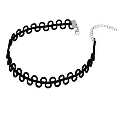 Damskie Naszyjniki choker - Spersonalizowane Podstawowy minimalistyczny styl Inne Circle Shape Naszyjniki Na Impreza