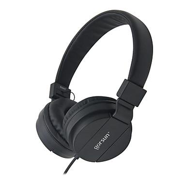 Gorsun GS-778 Στο αυτί Κεφαλόδεσμος Ενσύρματη Ακουστικά Κεφαλής Δυναμικός Πλαστική ύλη Κινητό Τηλέφωνο Ακουστικά Με Έλεγχος έντασης ήχου