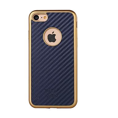 Pentru Placare / Model Maska Carcasă Spate Maska Model Geometric Greu PU piele pentru AppleiPhone 7 Plus / iPhone 7 / iPhone 6s Plus/6