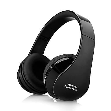Χαμηλού Κόστους Ακουστικά Κεφαλιού-NX8252 Πάνω από το αυτί Ασύρματη Ακουστικά Κεφαλής Εξισορροπημένο οπλισμό Πλαστική ύλη Ταξίδια & Ψυχαγωγία Ακουστικά Απομόνωση θορύβου / Με Μικρόφωνο / Με Έλεγχος έντασης ήχου Ακουστικά