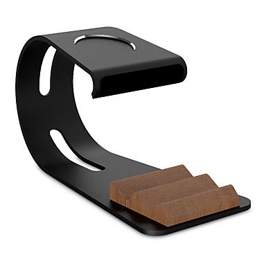Paifan Uhrstandplatz für Apfeluhr-Reihe 1 2 ipad iphone 7 6 plus 5 5s 5c Metall All-in-1 Standplatz 38mm / 42mm Kabel nicht einschließen