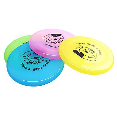 Σκύλος Παιχνίδι για σκύλους Παιχνίδια για κατοικίδια Ιπτάμενοι Δίσκοι Κινούμενα σχέδια Πιάτο Πλαστική ύλη Για κατοικίδια