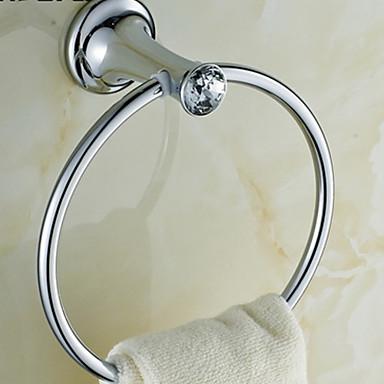 weiyuwuxian® cristal de argint inel elegant aramă prosop