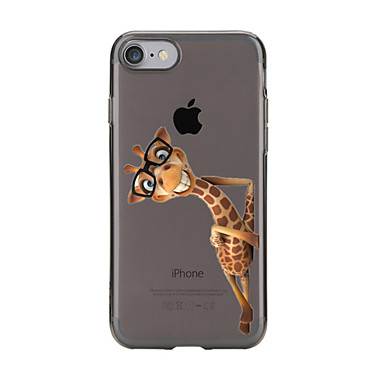 Custodia Morbido disegno iPhone 7 Per Per Transparente Apple 05479292 6 X per Custodia 5 iPhone 8 retro iPhone TPU iPhone Fantasia iPhone Animali rrHxFq