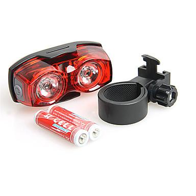 Φώτα Ποδηλάτου Πίσω φως ποδηλάτου - Ποδηλασία Αντιολισθητική λαβή Μικρό Μέγεθος Εξαιρετικά Ελαφρύ Με ροοστάτη ΑΑΑ Lumens Μπαταρία Κόκκινο