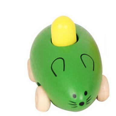 Eğitici Oyuncak Mouse Yenilik Tahta Genç Erkek Genç Kız