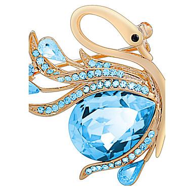 naisten koruja metalliseos sininen rintakoruja 1ps