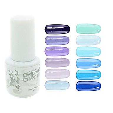 Polonya UV Jel Tırnak 0.005 1 UV Renkli Jel Klasik Uzun Ömürlü kapalı emmek Günlük UV Renkli Jel Klasik Yüksek kalite