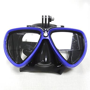 Gogle do pływania Okulary do pływania Maski do nurkowania Anti-Fog Regulowany rozmiar Wodoodporne - Dla dorosłych Pływacki Nurkowanie