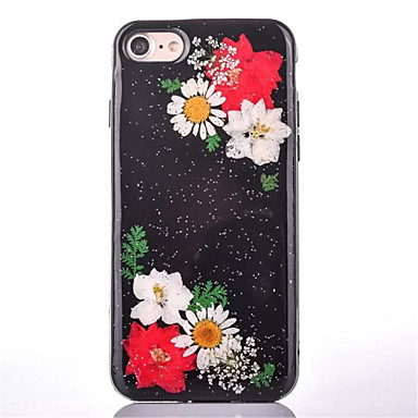Na Wytłaczany wzór Wzór Kılıf Etui na tył Kılıf Kwiat Twarde PC na Apple iPhone 7 Plus iPhone 7 iPhone 6s Plus/6 Plus iPhone 6s/6