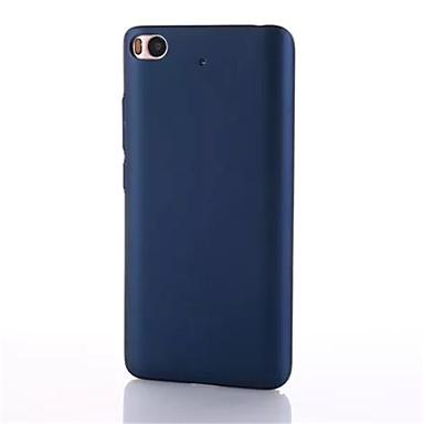 إلى نحيف جداً غطاء غطاء خلفي غطاء لون صلب قاسي PC إلى Xiaomi Xiaomi Mi 5 Xiaomi Mi 4 Xiaomi Mi 5s Xiaomi Mi 5s Plus