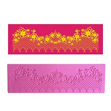 λουλούδι αλυσίδα διακόσμηση δαντέλα mat lfm-35 μούχλα κέικ, εργαλείο ψησίματος