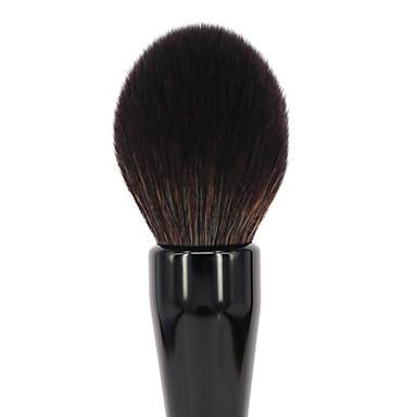 1 كفاف فرشاة فرشاة حمرة الخدود فرشاة البودرة الاصطناعية الشعر محمول متخصص تحد البكتريا مقاومة الحساسية/ هيبوالرجينيك اصطناعي بلاستيك احمر