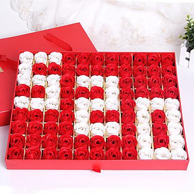 korkealaatuista ruusu saippua laatikko 520 äitienpäivä lähettää tyttöystävänsä Ystävänpäivä Qixi festivaali luovia lahjoja