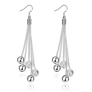 Kadın Damla Küpeler minimalist tarzı Bakır Gümüş Kaplama Mücevher Parti Günlük