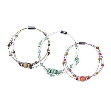 Dame Brățări Bangle Cristal Modă Hârtie Reciclabilă Opal Bijuterii Pentru Petrecere Zi de Naștere Zilnic Casual Cadouri de Crăciun