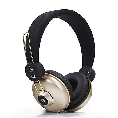 JKR JKR-115 ΑκουστικάΚεφαλής(Με Λουράκι στο Κεφάλι)ForMedia Player/Tablet Κινητό Τηλέφωνο ΥπολογιστήςWithΜε Μικρόφωνο DJ Έλεγχος