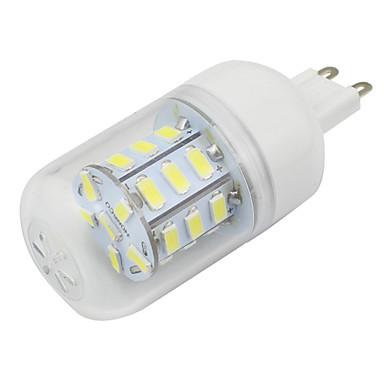 4W G9 Żarówki LED kukurydza T 27 SMD 5730 280 lm Ciepła biel Zimna biel Dekoracyjna V 1 sztuka