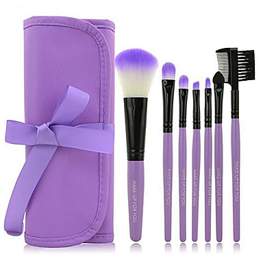7pcs Makyaj fırçaları Profesyonel Fırça Setleri Sentetik Saç / Suni Fibre Fırça / Diğer Fırça Bakterileri Kısıtlar