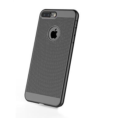Pouzdro Uyumluluk Apple iPhone 7 iPhone 6 iPhone 5 Kılıf Buzlu Arka Kılıf Tek Renk Sert PC için iPhone 7 Plus iPhone 7 iPhone 6s Plus