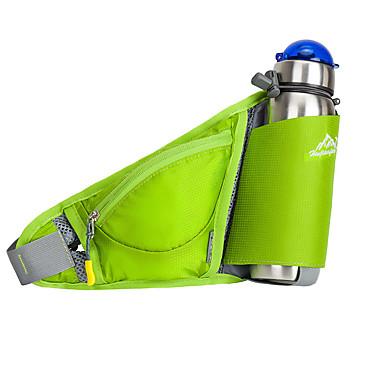Göğüs Çantası Bel Çantaları Matara Taşıma Kemeri Kemer Kılıfı için Bisiklete biniciliği/Bisiklet Koşma Jogging Kamp & Yürüyüş Seyahat