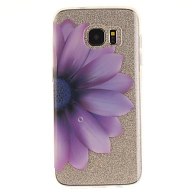 Na IMD Przezroczyste Wzór Kılıf Etui na tył Kılıf Kwiat Miękkie TPU na Samsung S7 edge S7 S3
