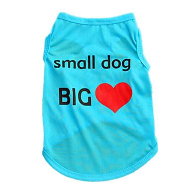 قط كلب سترة ملابس الكلاب جميل كاجوال/يومي صلب أرجواني أحمر أخضر زهري كوستيوم للحيوانات الأليفة